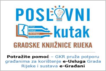 Poslovni kutak Gradske knjižnice Rijeka